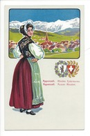 21946 - Costumes Suisses Appenzell Rhodes Extérieures Appenzel Ausser Rhoden Schweizer Trachten - Costumes
