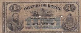 Brazil 1 Mil Reis 1833 - Brazil