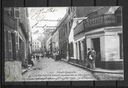 02 SAINT QUENTIN RUE VILLEBOIS MAREUIL ANCIENNEMENT RUE DU PETIT PONT - Saint Quentin
