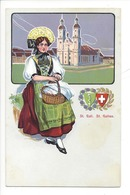 21950 - Costumes Suisses St.Gall St.Gallen Schweizer Trachten - Costumes
