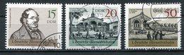 DDR Michel-Nr. 3238-3240 Gestempelt - Gebraucht