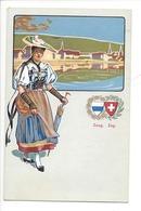 21951 - Costumes Suisses Zoug Zug Schweizer Trachten - Costumes