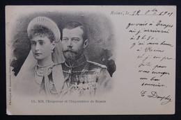 ROYAUTÉ - L 'Empereur Et L 'Impératrice De Russie - L 28794 - Familles Royales