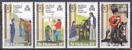 St. Helena 1981 Jugendförderung Youth Verkehrserziehung Traffic Tierschutz Persönlichkeiten Prinz Philip, Mi. 349-2 ** - Isla Sta Helena