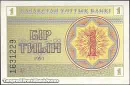 TWN - KAZAKHSTAN 1a - 1 Tyin 1993 Series АГ UNC - Kazakistan