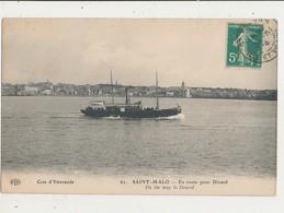 35 SAINT MALO EN ROUTE POUR DINARD CPA BON ETAT - Saint Malo