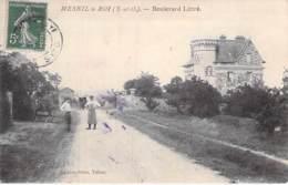 78 - MESNIL LE ROI : Boulevard Littré - CPA - Yvelines - France