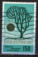 KENYA-UGANDA-TANZANIA - 1969 - African Development Bank, 5th Anniv. - USATO - Tanzania (1964-...)