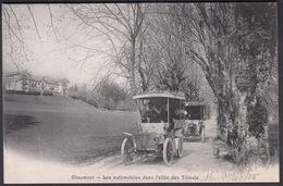 CPA  Suisse, CHAUMONT, Les Automobiles Dans L'allee Des Tilleuls - NE Neuchâtel