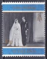 St. Helena 1997 Geschichte History Persönlichkeiten Königshäuser Royals Königin Elisabeth Prinz Philip, Mi. 714 ** - St. Helena
