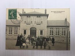 Solignac école De Fille - France