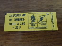 TIMBRE DE FRANCE CARNET 2715  C5A - Carnets