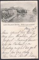 Italia  -  RIVA, Lido Palace Hotel ( Lac De Garde ) - Trento