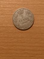 SERBIA 1 DINAR 1897 SILVER COIN - Serbia