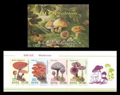 North Korea 2008 Mih. 5324/27 Flora. Mushrooms (booklet) MNH ** - Corea Del Norte