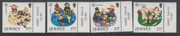 Europa Cept 1989  Jersey 4v (+margin) ** Mnh (42614) - 1989