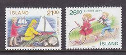 Europa Cept 1989 Iceland 2v ** Mnh (42614C) - 1989