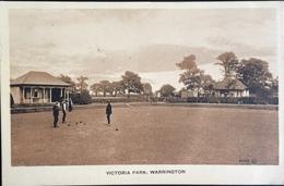 Victoria Park, Warrington - Guerre 1914-18