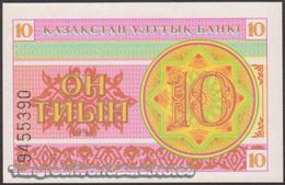 TWN - KAZAKHSTAN 4a - 10 Tyin 1993 Series ГB UNC - Kazakistan