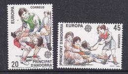 Europa Cept 1989 Andorra Sp. 2v ** Mnh (42614D) - 1989