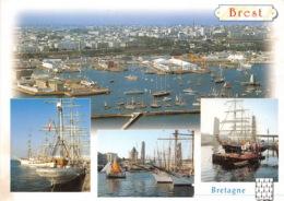 BREST Rassemblement De Vieux Greements Dans La Penfeld 29(scan Recto-verso) MA1785 - Brest