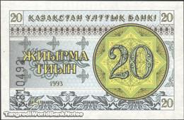 TWN - KAZAKHSTAN 5a - 20 Tyin 1993 Series ДА UNC - Kazakistan