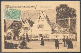 """BELGIUM - BELGIQUE - Exposition Universelle De Bruxelles 1910 - """"Vieux Dusseldorf"""" - Other"""
