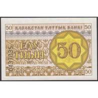 TWN - KAZAKHSTAN 6a - 50 Tyin 1993 Series EЛ UNC - Kazakistan