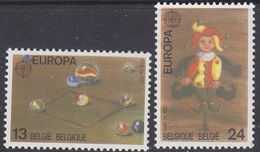 Europa Cept 1989 Belgium 2v ** Mnh (42614P) - 1989