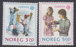 Europa Cept 1989 Norway 2v ** Mnh (42614Q) - 1989