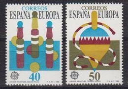 Europa Cept 1989 Spain 2v ** Mnh (42614R) - 1989