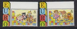 Europa Cept 1989 Gibraltar 2v (corner) ** Mnh (42615) - 1989