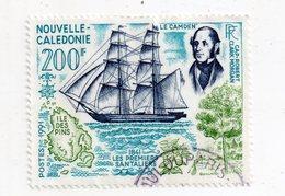 Env 1 : Nouvelle Caledonie Stamp Timbre Oblitéré 1841 Les Premiers Santaliers Le Camden - Neukaledonien