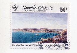 Env 1 : Nouvelle Caledonie Stamp Timbre Oblitéré Gaston Pullet Poste Aérienne - Neukaledonien