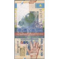 TWN - KAZAKHSTAN 28 - 200 Tenge 2006 Prefix EB UNC - Kazakistan