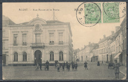 BELGIUM - BELGIQUE - AALST - ALOST - Rue Neuve Et La Poste - Aalst