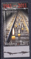 1.- MOLDOVA 2011 70TH ANNIVERSARY OF MASS DEPORTATION OF 1941 - Moldavia