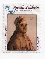 Env 1 : Nouvelle Caledonie Stamp Timbre Oblitéré Paul Mazcart - Neukaledonien