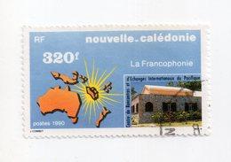 Env 1 : Nouvelle Caledonie Stamp Timbre Oblitéré La Francophonie - Usati