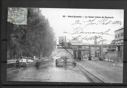 02 SAINT QUENTIN LE CANAL USINE DE ROCOURT - Saint Quentin