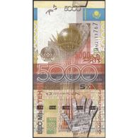 TWN - KAZAKHSTAN 32b - 5000 5.000 Tenge 2006 Prefix AM UNC - Kazakhstan