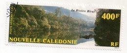 Env 1 : Nouvelle Caledonie Stamp Timbre Oblitéré La Riviere Bleue - Neukaledonien
