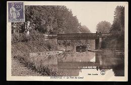 Cpa 4520003 Dordives Le Pont Du Canal, Péniche - Dordives