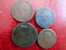 Lot 4 Pieces Louis Xvi - 1789-1795 Franz. Revolution