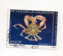 Env 1 : Nouvelle Caledonie Stamp Timbre Oblitéré Le Monde Des Profondeurs ORSTROM - New Caledonia