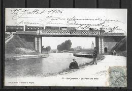 02 SAINT QUENTIN LE PONT DE VELU - Saint Quentin