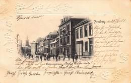 ARNSBERG STEINWEGSTRASSE~VIGNETTE PHOTO~1901 POSTMARK POSTCARD 40487 - Arnsberg