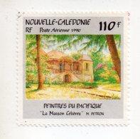 Env 1 : Nouvelle Caledonie Stamp Timbre Oblitéré Peintres Du Pacifique La Maison Célieres M PETRON - Usati