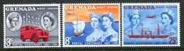 Grenada 1961 Stamp Centenary Set MNH (SG 208-210) - Grenada (...-1974)