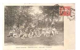 CPA Confort (01) Colonie Lyonnaise à Confort En Août 1908 Le Gouter - France